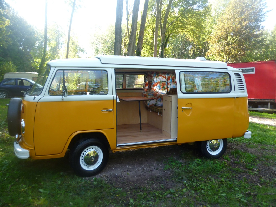 vw t2 baywindow camper van for sale termite head. Black Bedroom Furniture Sets. Home Design Ideas